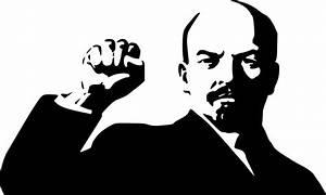 Imagenes Sin Copyright: Lenin levanta el puño, arriba comunismo