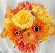 Yellow And Orange Bouq...