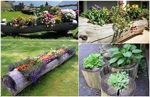 fab art diy log home garden decor ideas With home and garden decorating ideas