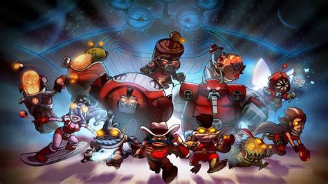 Awesomenauts Video Games Wallpapers Hd Desktop And
