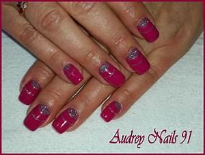 Deco Ongles 2016 : gel de couleur rose candide d co en gel scintillant ~ Nature-et-papiers.com Idées de Décoration