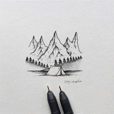 hand drawn nature themed illustrations by sam larson