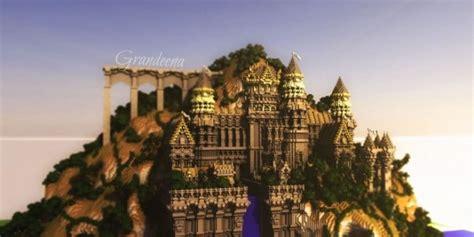 grandeena castle minecraft building