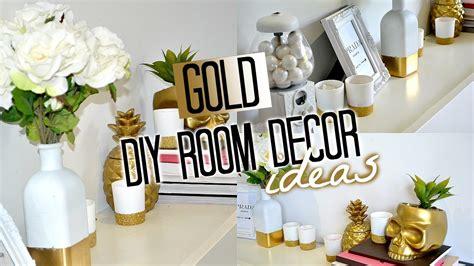 diy gold bedroom decor diy room decor gold tobie hickey