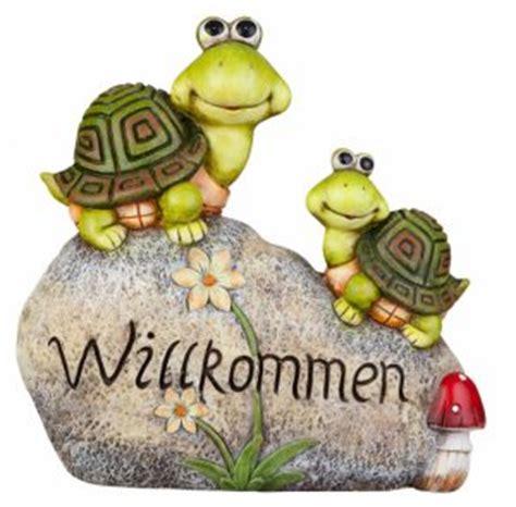 Gartendeko Willkommen by Trenddesign Besttoy Spielwaren