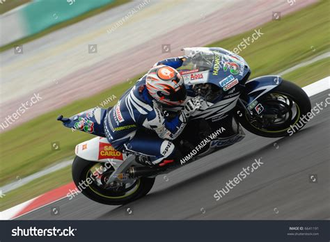 Italian Marco Melandri Honda Gresini At 2007 Polini