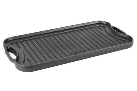 viking cast iron reversible griddlegrill pan   cutlery