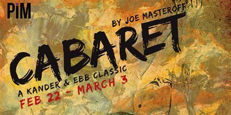 cabaret sponsors pim arts high school