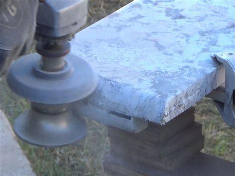 How to Create Bullnose Profile Granite Countertop Edges