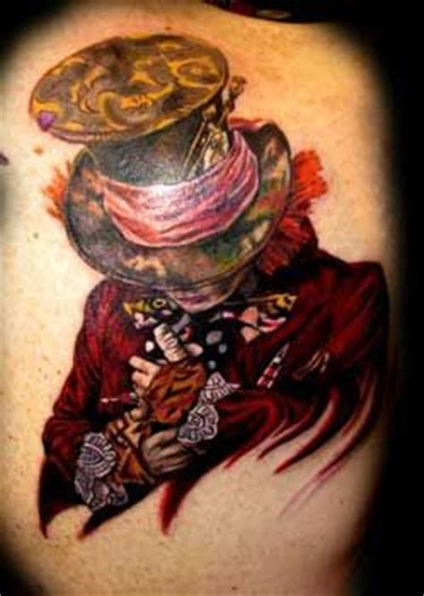 25+ Best Ideas About Mad Hatter Tattoo On Pinterest