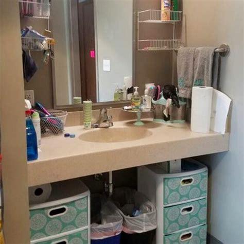 dorm bathroom ideas survival hacks diy dorm bathroom