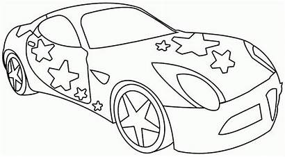 Coloring Transportation Preschool Printable Cars Clipart Limo