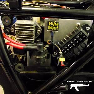 Mercenary Garage  Gpz 1100 Custom Wiring