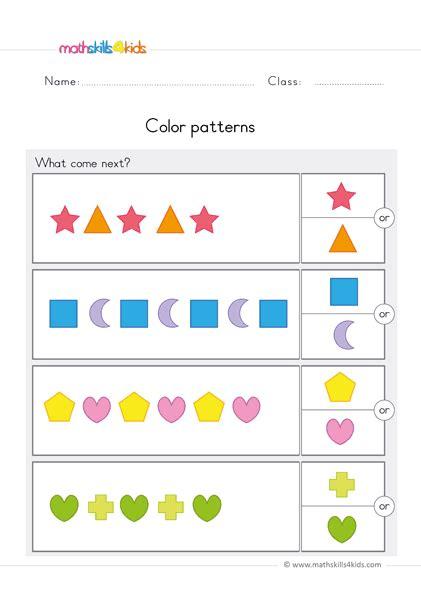preschool math worksheets  prekinders math printables