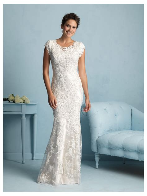 House Of Brides by Modest Wedding Dress Style M536 House Of Brides