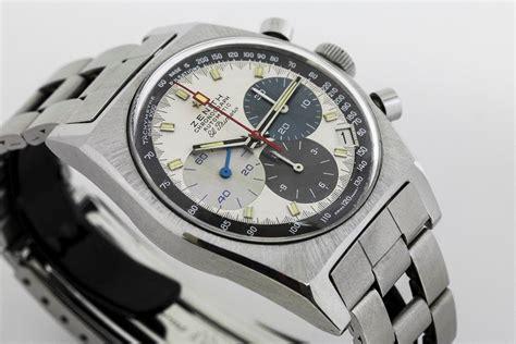 1970 Zenith El Primero Chronograph Watch For Sale - Mens ...