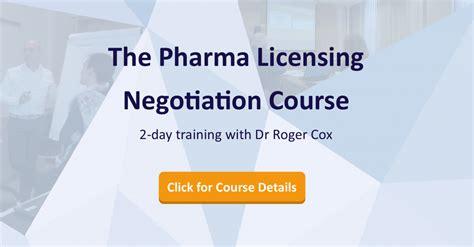pharma licensing negotiation   day training