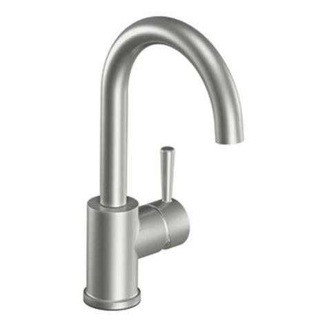 moen kitchen sinks and faucets moen bar sink faucet brushed nickel 9285