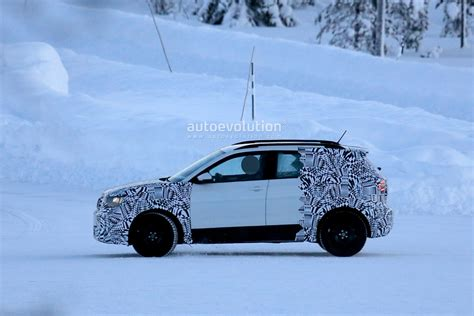 volkswagen winter volkswagen t cross budget suv spied undergoing winter