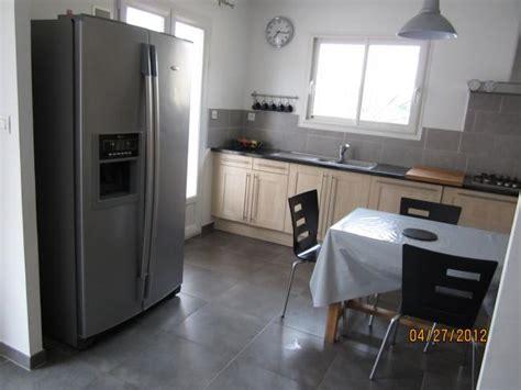 cuisine avec frigo americain integre cuisine frigo américain location villa lieuran lès béziers