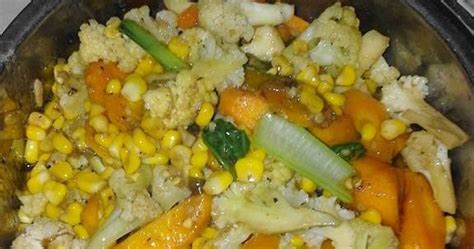 Taruh perkedel jagung di atas piring saji, hidangkan segera selagi panas. Resep Cara Membuat / Memasak / Bumbu Capcay - RESEP DAPUR KOKI