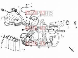Ducati 748 Battery  U00bb Wiring Harness Epc Parts  U0026gt  Oem