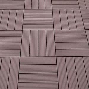 Kunststoff Fliesen Ikea : wpc balkon bodenfliesen bambus kunststoff braun ~ Michelbontemps.com Haus und Dekorationen