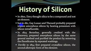 The Element Silicon - YouTube