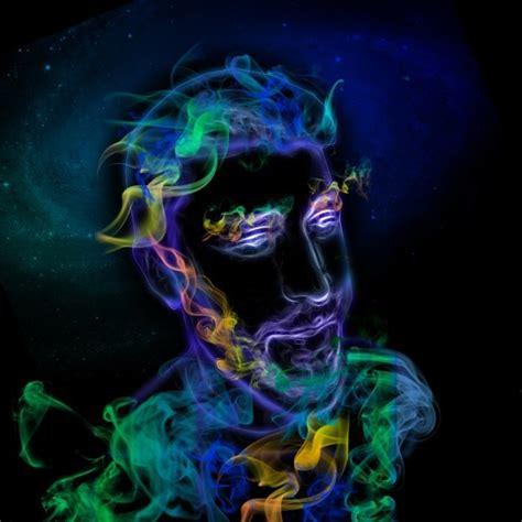 smoke portrait     photo manipulation