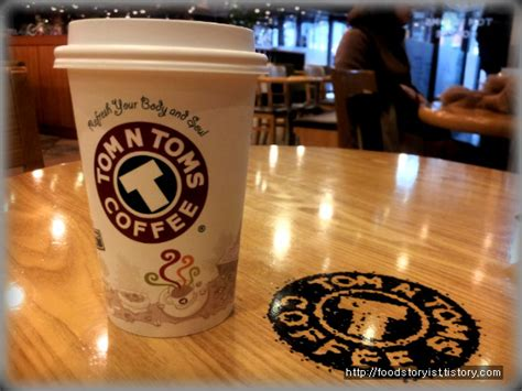 Explore more of our menu! A Cafe : New Coffee Menu, Tom N Toms : Franchise in Korea ...