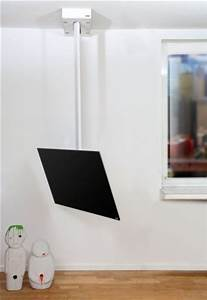 Fernseher 70 Zoll : stabile fernseher deckenhalterung mit einem verschiebbaren und drehbaren tragarm f r ~ Whattoseeinmadrid.com Haus und Dekorationen