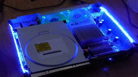 light on xbox 360 hardware tutorials 9 installing led strips to your xbox