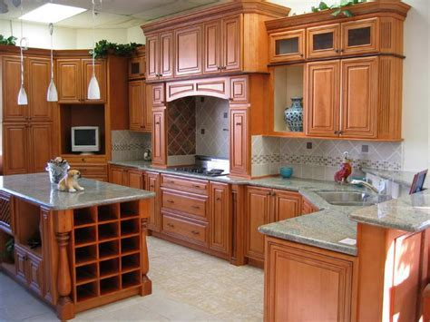 Warm Granite Colors For Kitchen Countertops With Cherry