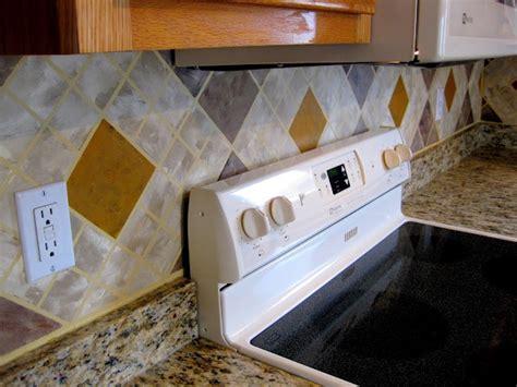 kitchen backsplash paint painted tile backsplashes paint