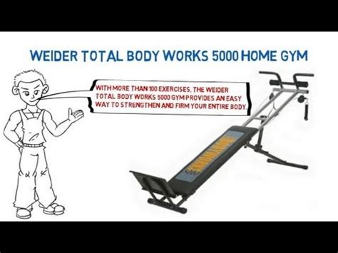 weider total body works  home gym youtube