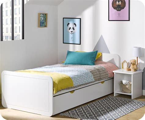 cabane pour chambre garcon lit enfant gigogne lemon blanc 90x190 cm