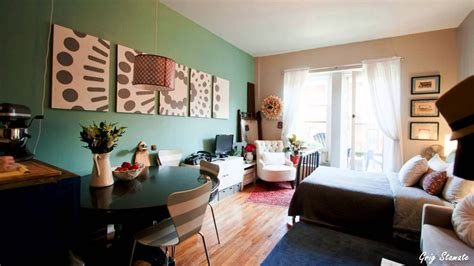 ideas to decorate a small living room studio apartment decorating on a budget