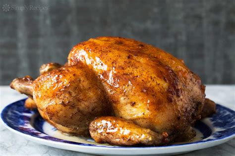 Roast Chicken With Apricot Glaze Recipe Simplyrecipescom