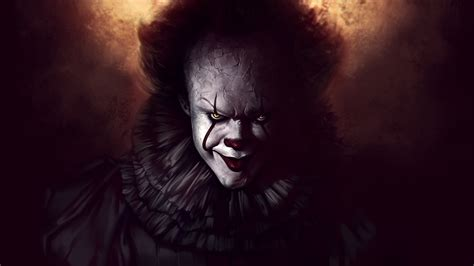 Background Digital Pennywise Clown Pennywise Wallpaper by Pennywise The Clown Fanart Hd 4k Wallpapers