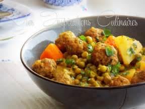 cuisine marocaine facile ramadan tajine kefta aux petits pois et aux carottes le