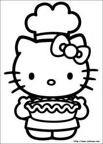 Winter Coloring Page Hello Kitty Screensaver