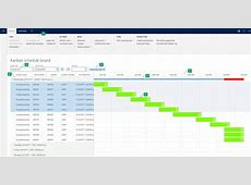 Visual scheduling for lean manufacturing Finance