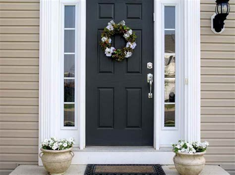 home design home depot exterior doors with black colour