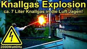Knallgas Explosion 7 Liter  Reupload