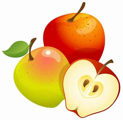 Apples Clipart Orange Apple Fruit Fall Clip