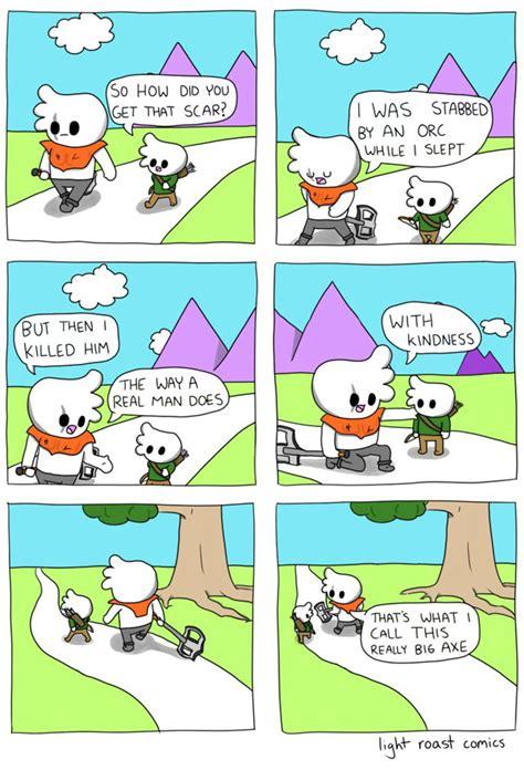 funny light roast comics   american living