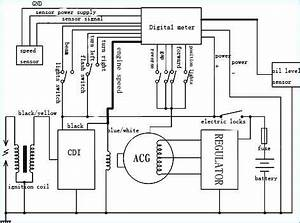 150cc gy6 wiring diagram poresco With headlight wiring diagram view diagram chinese 4 wheeler wiring diagram