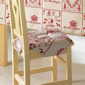 Galette De Chaise : galette de chaise montagne luge rouge 36x36 achat ~ Melissatoandfro.com Idées de Décoration