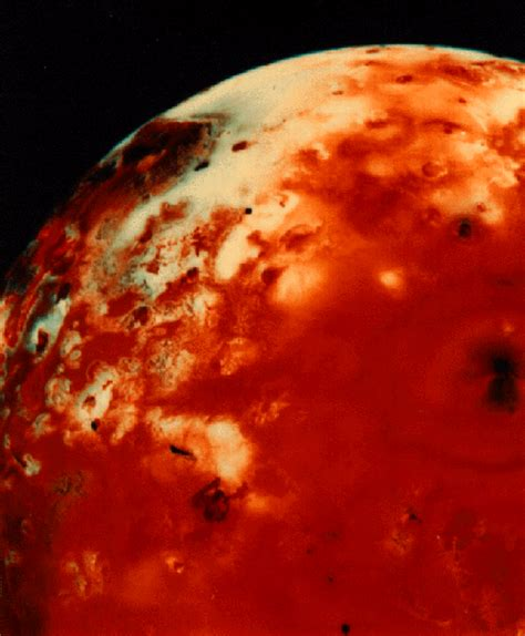 io voyager space nasa interstellar taken satellite jupiter today moments historic journey volcanoes clearly visible blotchy credit voyager1 universe vg1