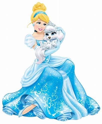 Cinderella Princess Disney Transparent Clip Princesses Clipart